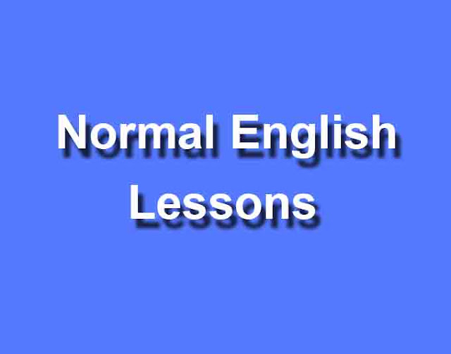 Normal English Lessons