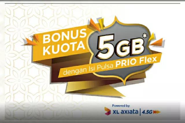 Kuota 5GB dari XL
