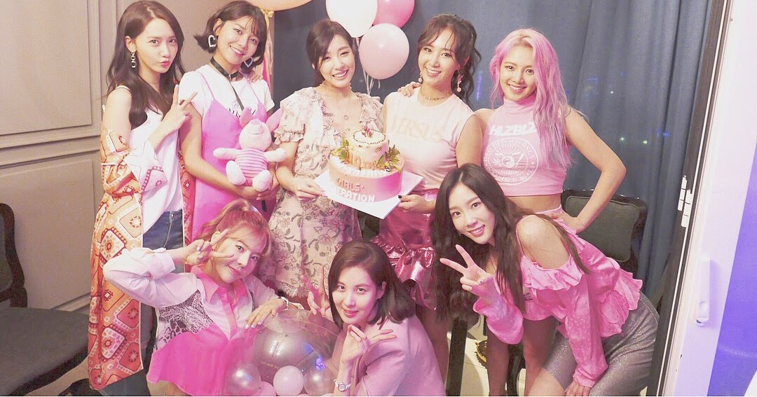 SNSD Tiffany shared lovely photos from her birthday party ...