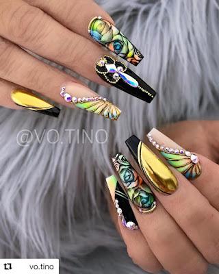 2019 Elegant and Trendy Nail Art Designs