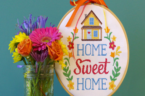 Image Resembles the cross stich design for home