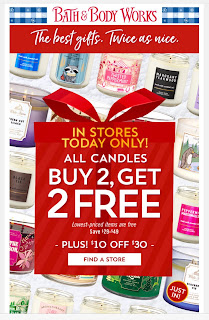 Bath & Body Works | Today's Email - December 16, 2019