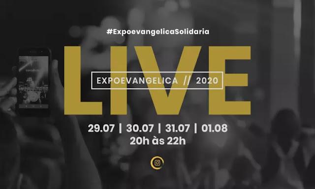 ExpoEvangélica promove live solidária durante a pandemia