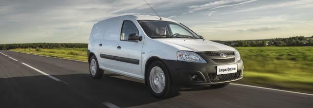 Европлан предлагает фургоны LADA Largus в лизинг в рамках программы LADA Leasing