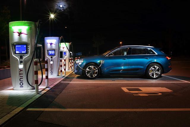 Audi e-Tron é o líder mundial de mercado no segmento