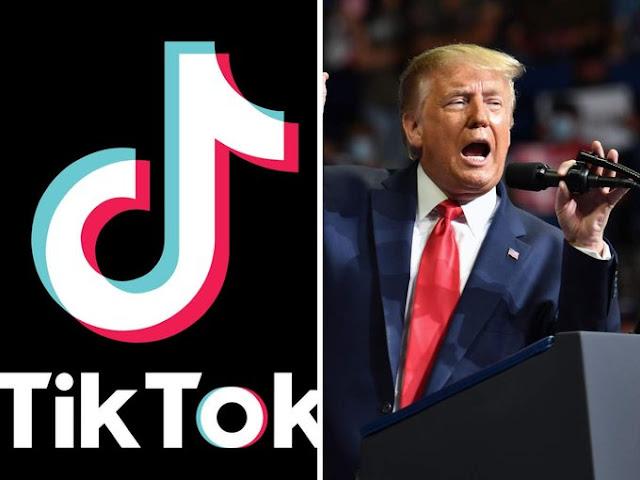 ترامب يدرس خيار حظر تيك توك