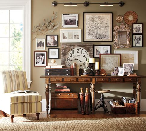 Inspiration For Creating A Gallery Wall Driven By Decor