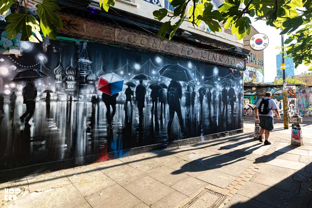Street Artist Dan Kitchener's Pedley Street Mural