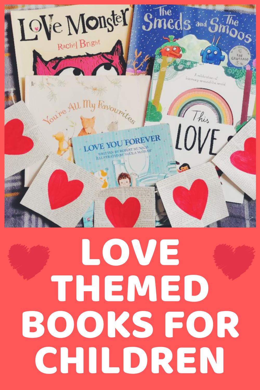 LOVE themed books for children, kids. Valentines Day