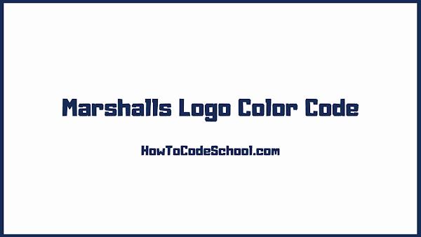Marshalls Logo Color Code