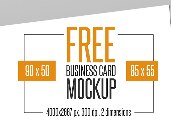 Download Business Card Mockup - 4 PSD Free