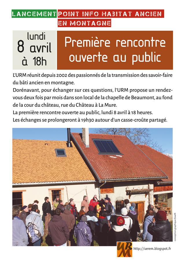 9864caa5c96a9a ... la cour du château, rue du château à La Mure. La première rencontre  ouverte au public , lundi 8 avril à 18 heures. Les échanges se prolongeront  à 19h30 ...