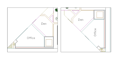 how to rotate viewport in the layout
