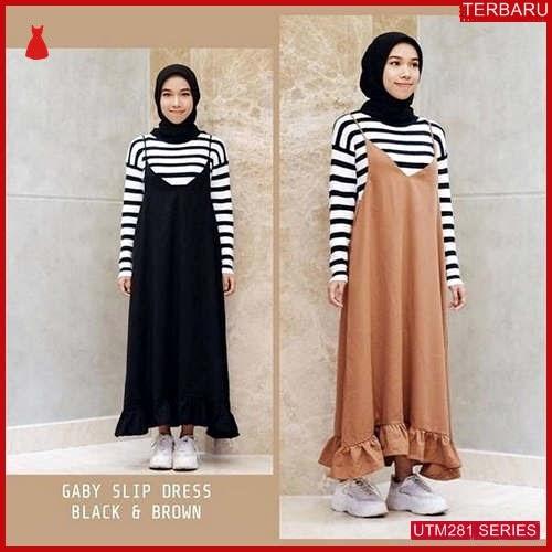 UTM281G66 Baju Gaby Muslim Slip Dewasa Dress UTM281G66 119 | Terbaru BMGShop