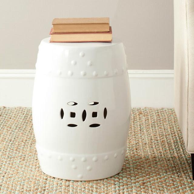 Gagnon Ceramic Garden Stool