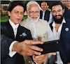 Shahrukh Khan, Aamir Khan hail Narendra Modi on Gandhi activity