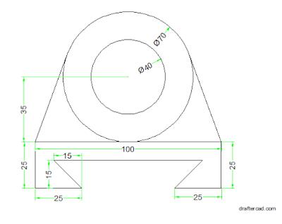 cara membuat Autocad Dimensi