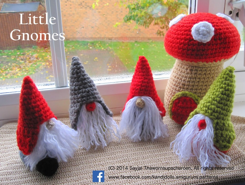 : New Amigurumi crochet pattern - Sayjai Amigurumi Crochet Patterns ...