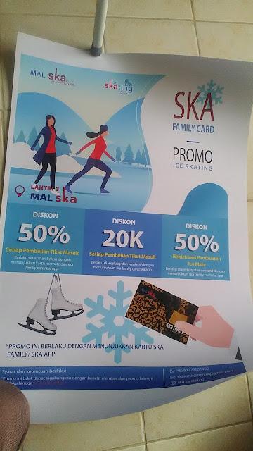 Poster Promo Ice Skating SKA