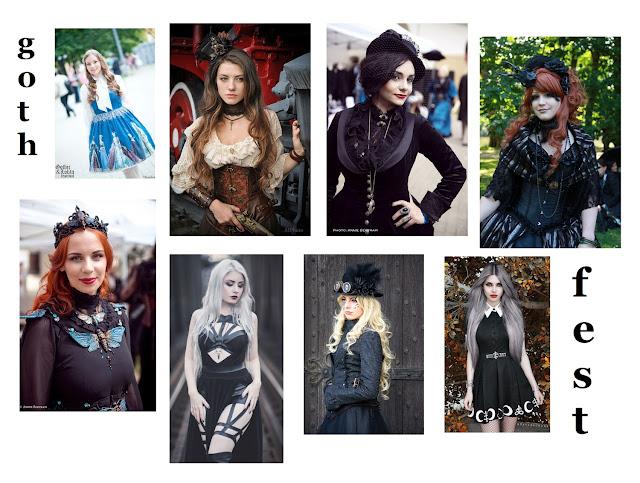 jak się ubrać na festiwal - w co się ubrać na festiwal - festival look - festival fashion - festival outfit - festiwale muzyczne  2019 w Polsce - gothic festival - gothic lolita - goth
