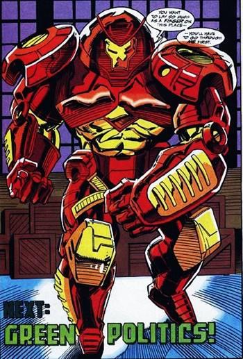Armadura Hulkbuster en los cómics