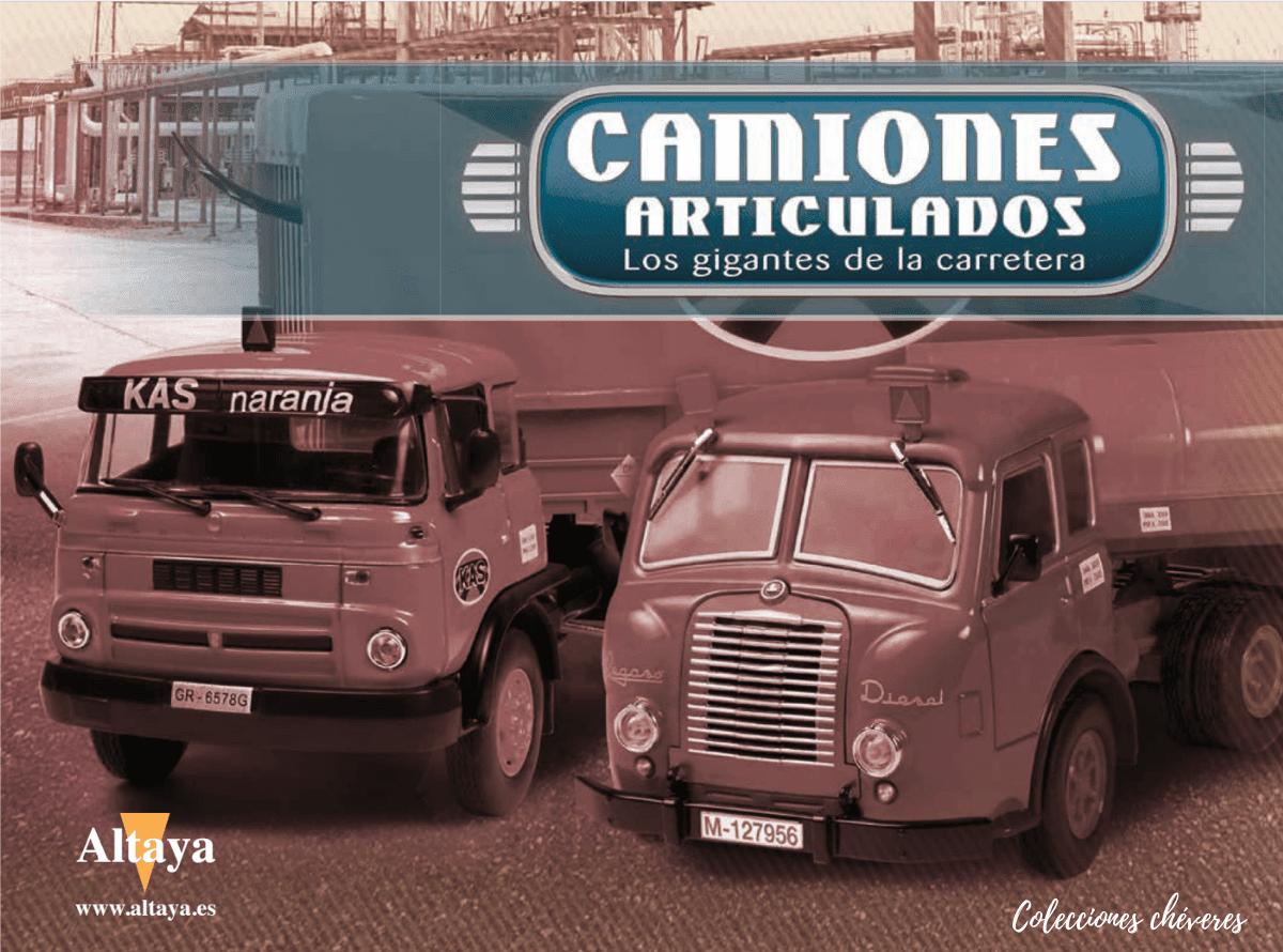 Colección camiones articulados 1/43