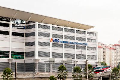 TBS Terminal Bersepadu Selatan www.WELTREISE.tv