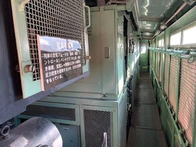 電気機関車の内部