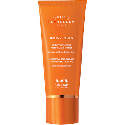 institut esthederm bronz repair protective wrinkle and firming face care