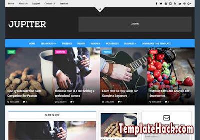 jupiter blogger template