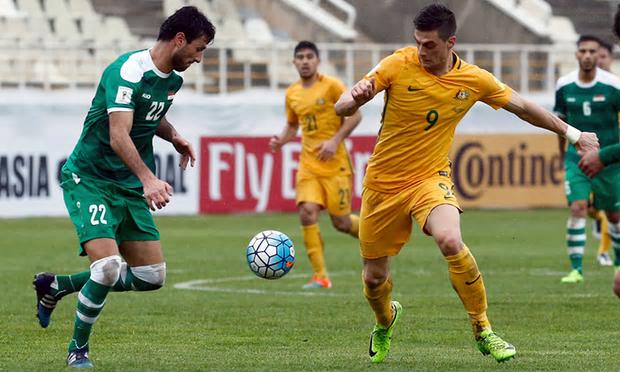 Irak sacó un empate ante Australia en la eliminatoria Rusia 2018 en Asia