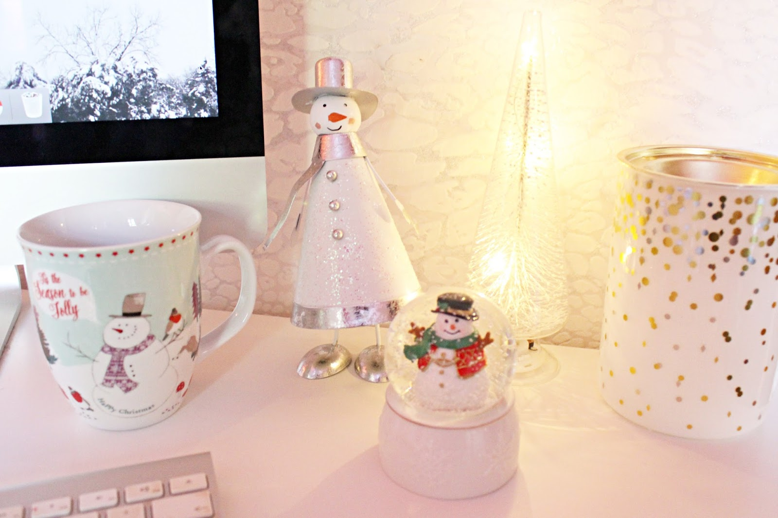 My Festive Workspace