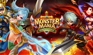 Screenshots of the Monster mania: Heroes of castle for Android tablet, phone.