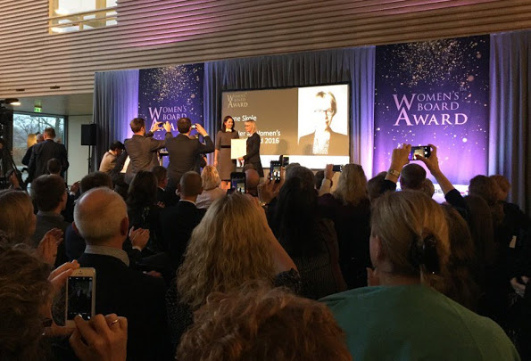 Princess Mary Attended 2016 Women's Board Award Ceremony