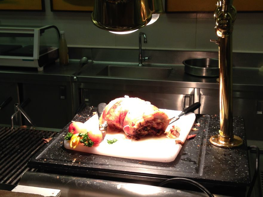 Lechon belly at Flavors Restaurant in Holiday Inn Makati