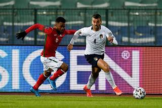 ملخص واهداف مباراة ايطاليا وبلغاريا (2-0) تصفيات كأس العالم