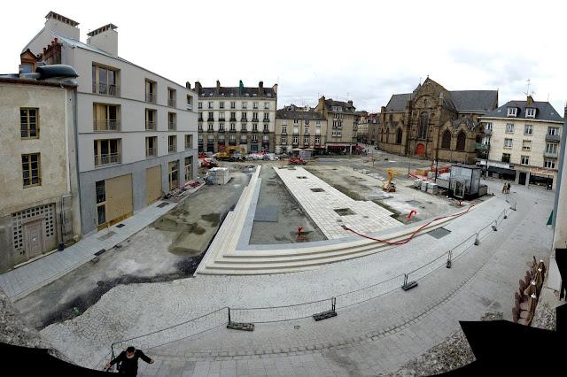 Panoramique de la Place Saint-Germain (17 Octobre 2020)