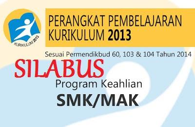 Silabus Kurikulum 2013 SMK revisi 2016, Silabus SMK Kurikulum 2013 revisi 2016,