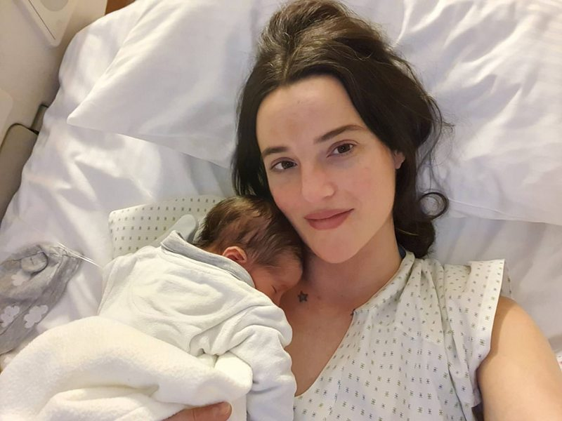 Renata Ruiz sobre su cesárea urgente