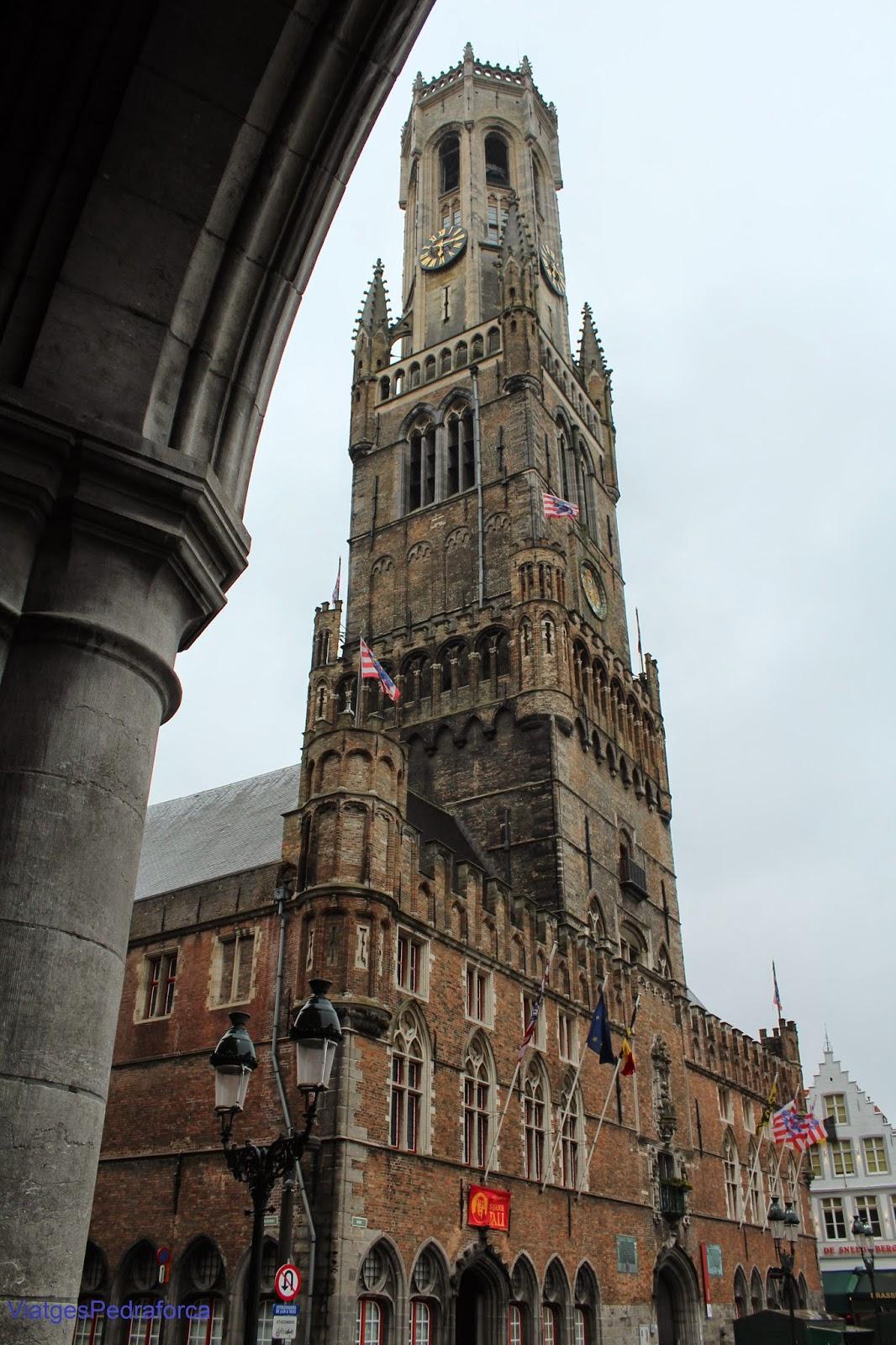 Belfort de Bruges, Brugge, Flandes, Belgica