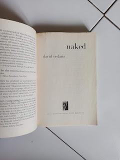 3 Naked by David Sedaris