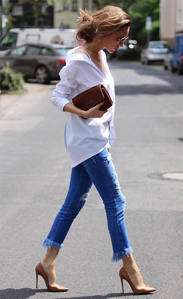 inovando a calça jeans, calça jeans, cropped jeans, jeans destroyed, blog camila andrade, blogueira de moda em ribeirão preto, fashion blogger em ribeirão preto, o melhor blog de moda, blog do interior paulista, blog de dicas de moda