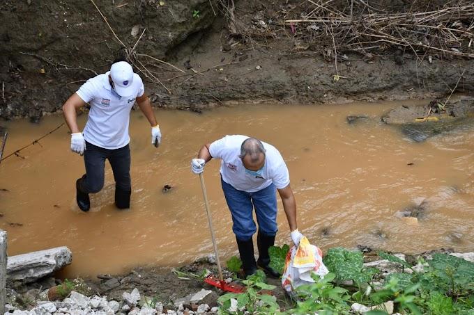 Dadsa avanza en la recuperación de la quebrada Tamacá al retirar más de 2 toneladas de basura para prevenir desbordamientos en días de lluvia
