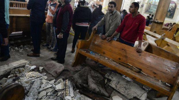 Dua Gereja Mesir Dibom Saat Rayakan Minggu Palma, 36 Korban Tewas