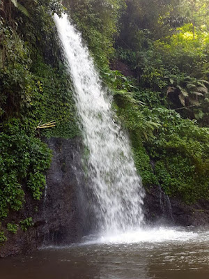 Guci waterfall in Tegal