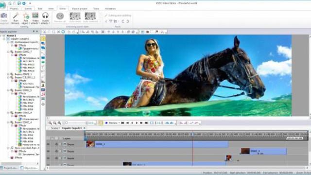 VSDC edit video terbaik