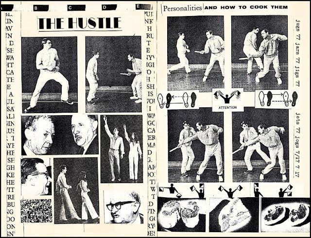 Disco self defense collage book
