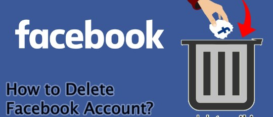 simple steps to delete facebook account