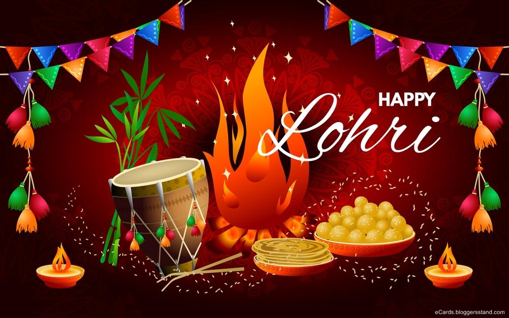 Best Happy lohri 2021 images in punjabi