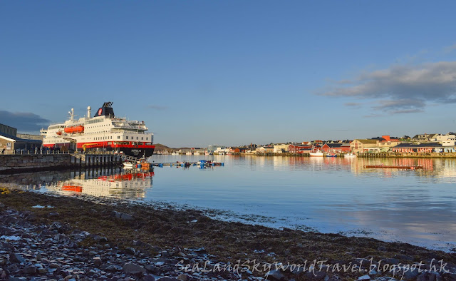 挪威 norway Hurtigruten 郵輪 Nordlys, Vardo